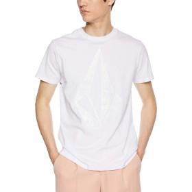 [ボルコム] [メンズ] 半袖 プリント Tシャツ (アジアンFIT)[ AF5119G0 / Apac Big Stone S/S Tee ] おしゃれ ロゴ WHT_ホワイト US L (日本サイズL相当)
