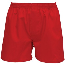 紳士 赤いトランクス 綿100% 日本製 (LL, 赤)