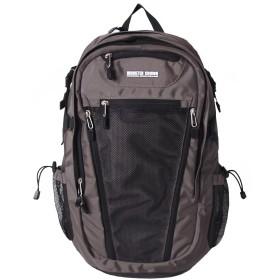[モンスタークラウン]MONSTER CROWN レイヤ バックパック 2シリーズ(メッシュ)(Layer Backpack 2Series) (Gray) [並行輸入品]