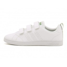 [アディダス] adidas メンズ ローカット スニーカー バルクリーン 2 CMF ストラップ コート ウォーキング カジュアル トラベル VALCLEAN 2 CMF AW5210 ランニングホワイト/R/グリーン 25.0cm