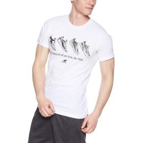 [ニューバランス] Tシャツ エッセンシャル90S T WT(ホワイト) 日本 M (日本サイズM相当)