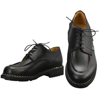 [パラブーツ] シャンボード CHAMBORD Uチップシューズ メンズ靴 ブラック オイルドレザー 国内正規取扱店 8+サイズ(27.0cm相当)