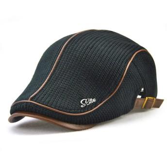 VICSPORT キャスケットハンチング帽欧米紳士ニットハンチング無地カジュアル 調節可能 アウトドア 旅行 (全6色) (グリーン)