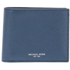 (マイケルコース) MICHAEL KORS メンズ レザー 二つ折り財布[並行輸入品]