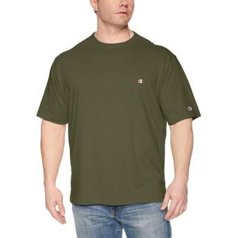 [チャンピオン] ワンポイントロゴTシャツ ベーシック 大きいサイズ C3-P300L メンズ ダークグリーン 日本 5L (日本サイズ5L相当)