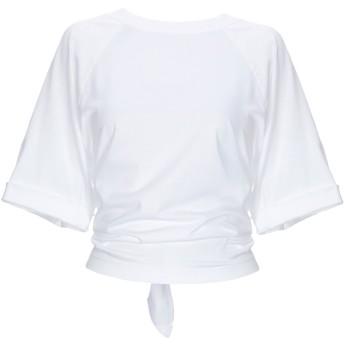 《9/20まで! 限定セール開催中》MAURO GRIFONI レディース T シャツ ホワイト XS コットン 100%