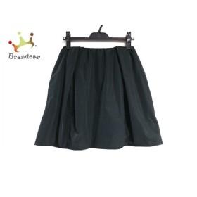 カルヴェン CARVEN ミニスカート サイズ36 S レディース 美品 黒 新着 20190713