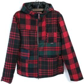 (シュガーグライダー) SUGARGLIDER #Crazy FLyhigh Jacket #SG17006 クレイジーフライハイジャケット フリース 中綿 メンズ レディース (Red Check (レッドチェック), L)