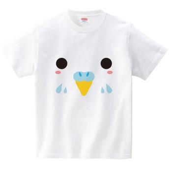 [itaxes] インコ(Tシャツ・ホワイト)(Mサイズ) (フォーヴァ)