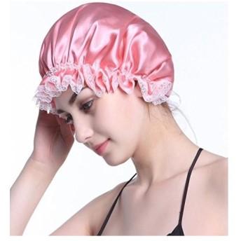 ナイトキャップ YOBOKO 100%シルク就寝用 帽子 ロングヘア 睡眠中の髪を保護 乾燥防止 枕の擦れ 髪のもつれ 枝毛 切れ毛 防止 快眠 つ