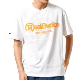 Real.B.Voice リアルビーボイス メンズ 半袖 Tシャツ 10091-10176 WHTORG M