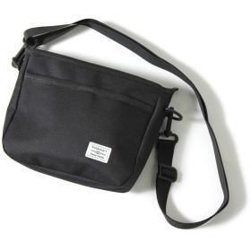 JOKnet ミニ サコッシュバッグ メンズ バッグ 鞄 カバン ショルダーバッグ ミニバッグ ファニーパック 軽量 斜めがけ ブラック F