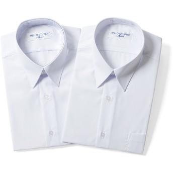 お得 2枚セット スクール ワイシャツ 男子 半袖 学生 ワイシャツ (左胸ポケット) カッターシャツ 半袖 (165B) 形態安定 学生ワイシャツ スクールシャツ