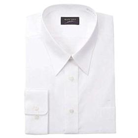 (マンチェス) MANCHES 大きいサイズ レギュラーカラー長袖シャツ 8L ホワイト
