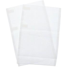 [ 京都きもの町 ] 夏用 替え袖 絽 綿100% 無地 白 単品