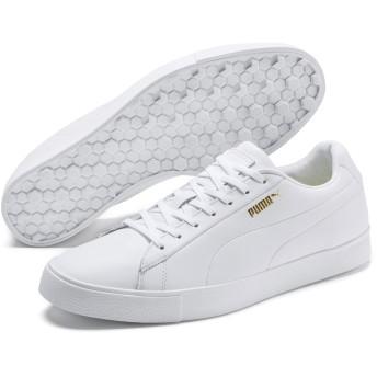 【プーマ公式通販】 プーマ ゴルフ オリジナル G スパイクレスシューズ メンズ White-White |PUMA.com