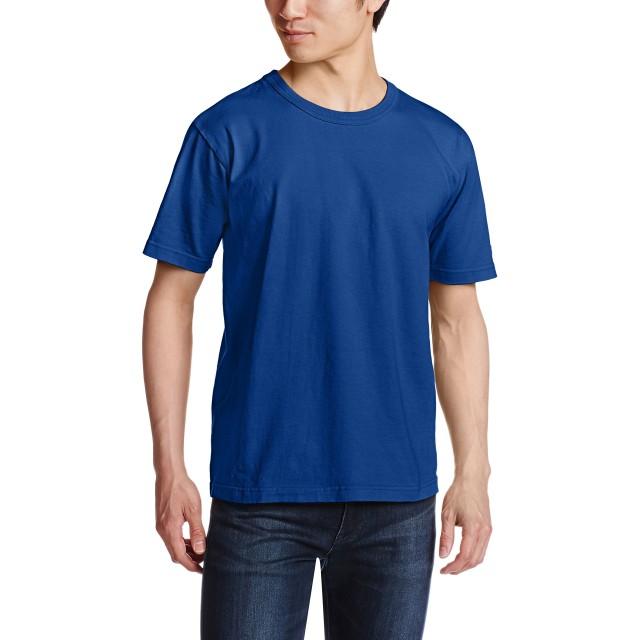[チャンピオン] T1011 US Tシャツ MADE IN USA C5-P301 ディープブルー 日本 L (日本サイズL相当)