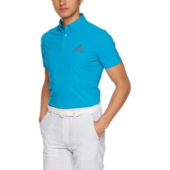 [アディダスゴルフ] CS CP CLIMACOOL 4WAYストレッチ ショートスリーブ ボタンダウンシャツ ETS03 メンズ ボールドアクア 日本 L-(日本サイズL相当)