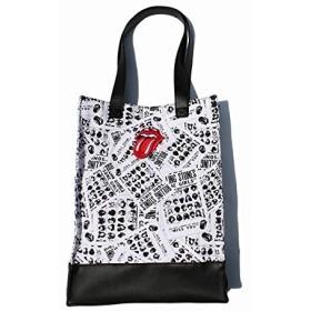 ローリングストーンズ(The Rolling Stones) THE ROLLING STONES 2トーントートバッグ Some Girls 【11ホワイト/F】