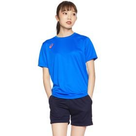 [アシックス] バレーボールウエア 半袖シャツ 2052A040 レディース イリュージョンブルーB 日本 L (日本サイズL相当)