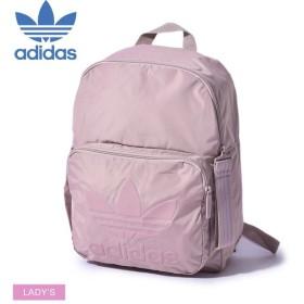 アディダス オリジナルス クラシック バックパック ミディアム DV0215 レディース ADIDAS 鞄 ピンク ロゴ スポカジ リュック トレフォイル マーク バッグ