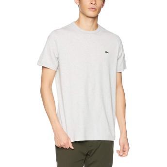 [ラコステ] ベーシック クルーネック Tシャツ (半袖) メンズ TH622EM グレー EU 005 (日本サイズXL相当)