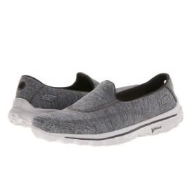 SKECHERS Performance(スケッチャーズ) レディース 女性用 シューズ 靴 フラット GoWalk 2 - Circuit - Gray 7 B - Medium [並行輸入品]