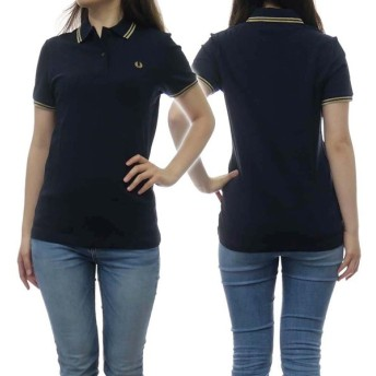 FRED PERRY フレッドペリー レディースポロシャツ G3600 / TWIN TIPPED FRED PERRY SHIRT ネイビー