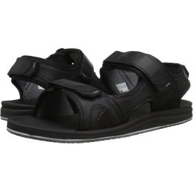 (ニューバランス) New Balance メンズサンダル・靴 Purealign Recharge Sandal Black 11 (29cm) 4E - Extra Wide