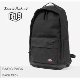 デウス エクス マキナ バックパック ベーシック DMP77416-BK レディース メンズ DEUS EX MACHINA ブランド おしゃれ リュック 鞄