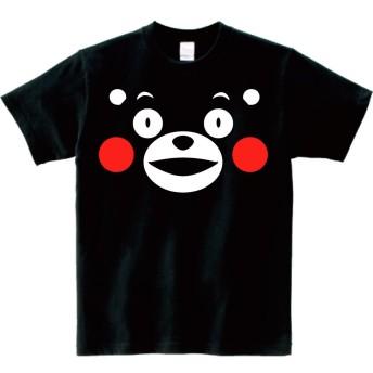 くまモン でか顔 半袖Tシャツ L