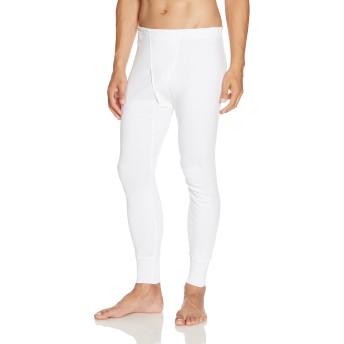 [グンゼ] 長ズボン下 快適工房 年間 綿100% KH3002 メンズ ホワイト 日本M (日本サイズM相当)