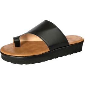 Arvolno サンダル レディース スリッパ 健康 外反母趾 矯正 履き心地 疲れにくい 歩きやすい 痛くない 軽量 カジュアル オシャレ 室内/室外履き (ブラック, 24.0cm)