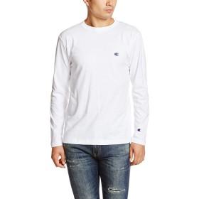 チャンピオン 長袖Tシャツ Champion ベーシックライン無地 メンズ C3-P401 C3-J424 XL WHITE