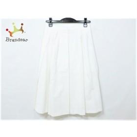 バレンチノ R.E.D VALENTINO スカート サイズ40 M レディース 美品 白 新着 20190713