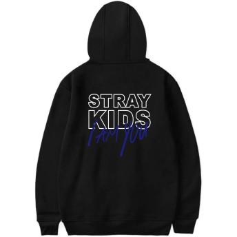 STRAY KIDS ロゴ パーカー ユニセックス