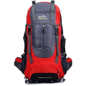 登山 ザック 登山用リュック 65L 防水 バックパック軽量 リュックサック キャンプ 旅行用 ディーバッグ 人気 アウトドア バッグ 通気性抜群