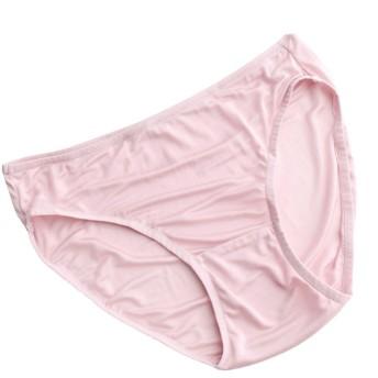 シルク ショーツ ローライズ S M L XL silk シルク100% ショーツ シルク100% ショーツ レディース 絹 パンツ 下着 シルクショーツ お腹に優しい 涼感 敏感肌 低刺激 保湿 快適 (M, ピンク)