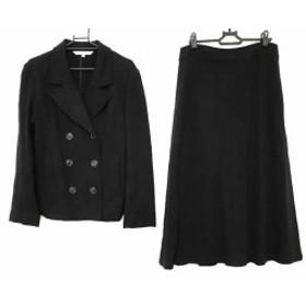ローラアシュレイ LAURAASHLEY スカートスーツ サイズ9 M レディース 黒【中古】20190709