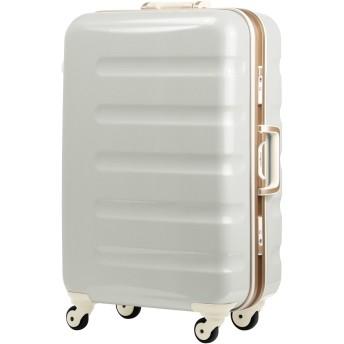 レジェンドウォーカー スーツケース 静音キャスター TSAロック 一年保証 ホワイトカーボン SSサイズ-47cm