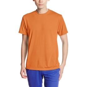 (ユナイテッドアスレ)UnitedAthle 5.5オンス ドライ コットンタッチ Tシャツ 560001 064 オレンジ XS
