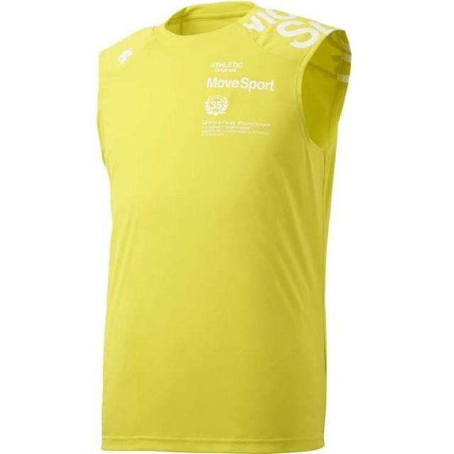 fb860a0d718f4 デサント(DESCENTE) WATER BLOCK ノースリーブシャツ DMMNJA50N YL S ...