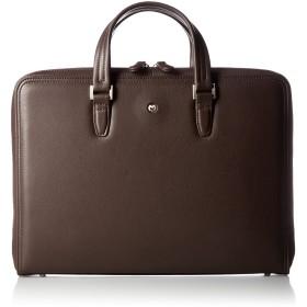 [ミラショーン] ビジネスバッグ クレスタ 193522 チョコ A4