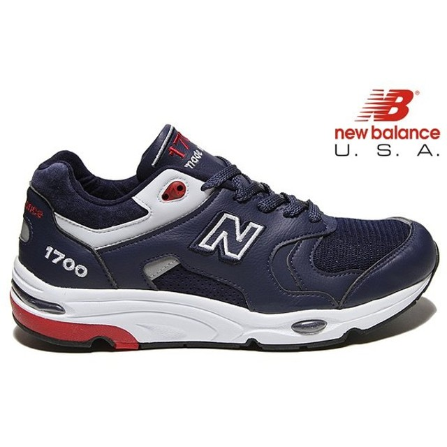 c79adf2f748ec NEW BALANCE M1700 CME 「Made in U.S.A」 NAVY/WHITE/RED WIDTH:D ...