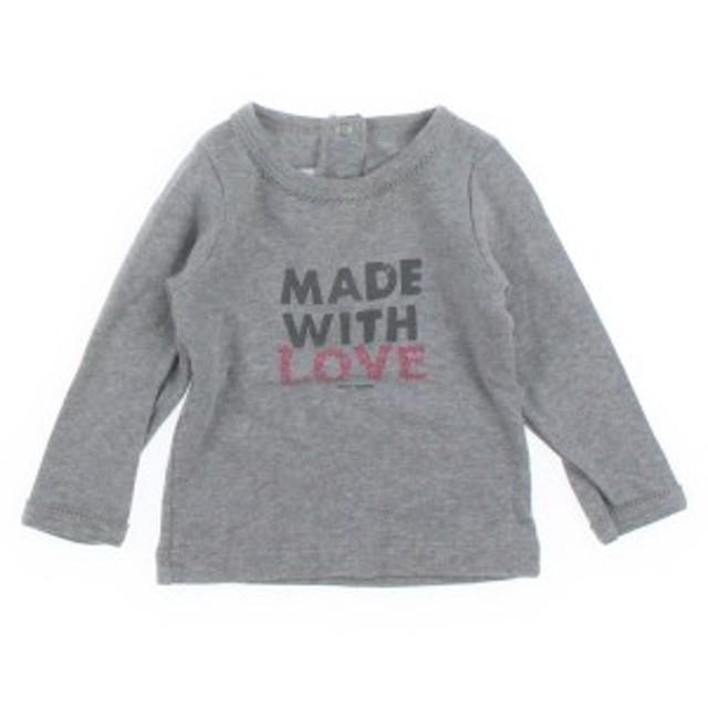PETIT BATEAU  / プチバトー キッズ Tシャツ・カットソー 色:グレー系 サイズ:6M