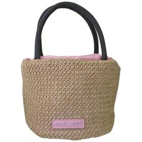 (ジル スチュアート) JILL STUART かごバッグ ミニ ハンドバッグ バッグ ロゴ ピンク 春 夏 リボン 鞄 カバン シンプル