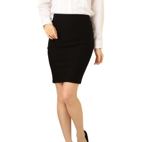 Eiza ペンシル スカート タイト オフィス スーツ 用 e441 (S)