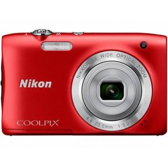 ニコン デジタルカメラ COOLPIX S2900 レッド