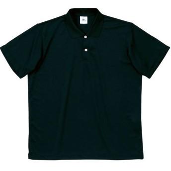 MIZUNO(ミズノ) 半袖 ポロシャツ 無地 スポーツウェア メンズ Mサイズ ブラック 87wp300-M-09