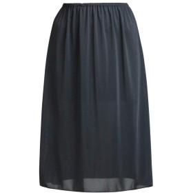 (ペチコート屋)さらすべシンプルペチコート(透けにくい生地) ブラック M 丈60cm